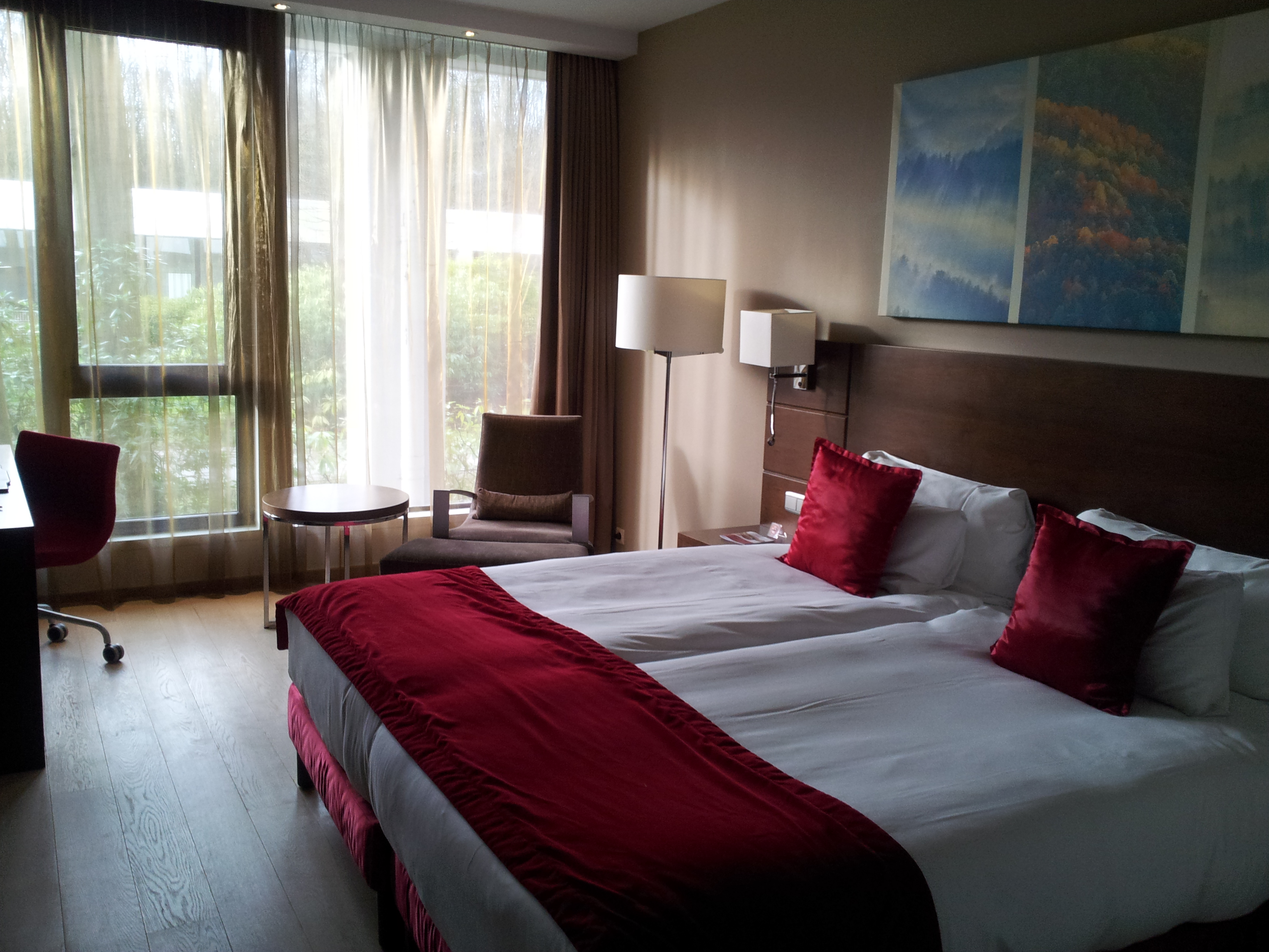 Superior room Dolce La Hulpe Brussels