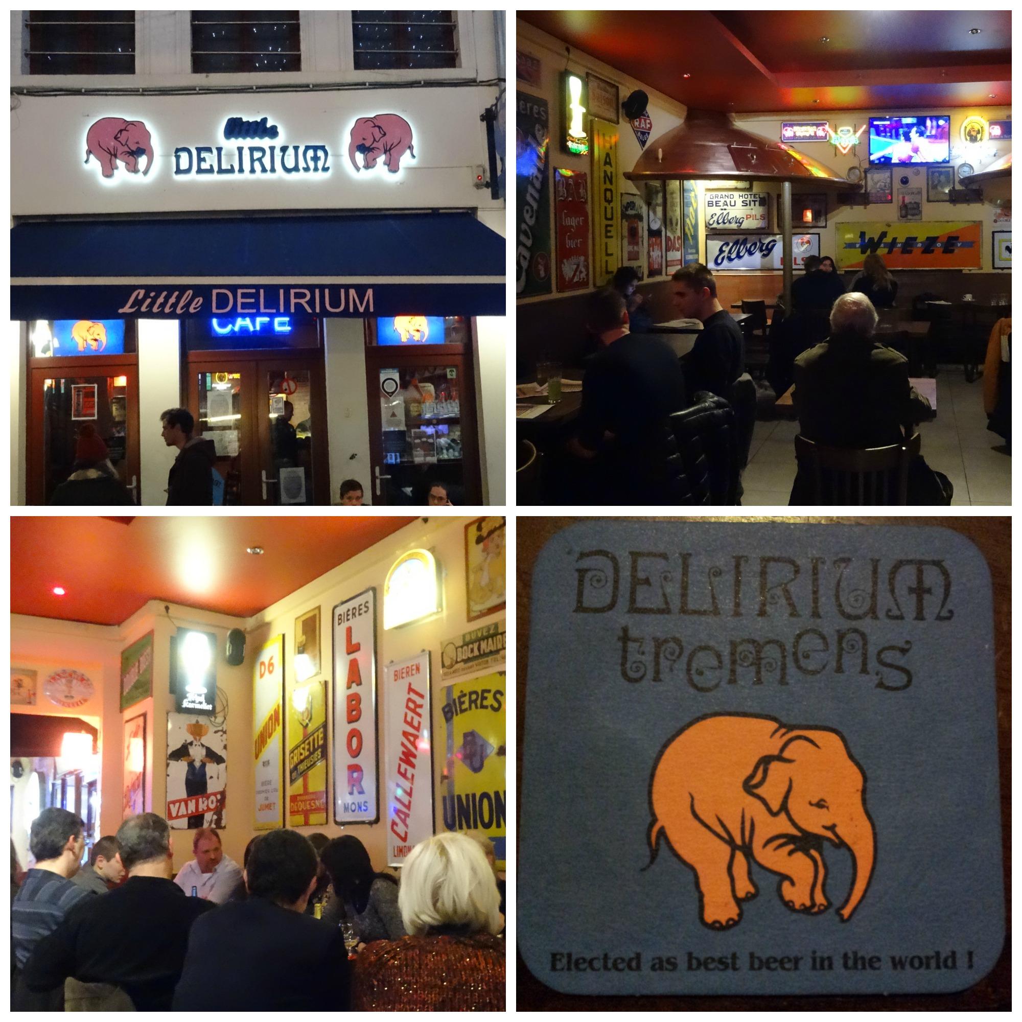 Brussel Little Delirium Café