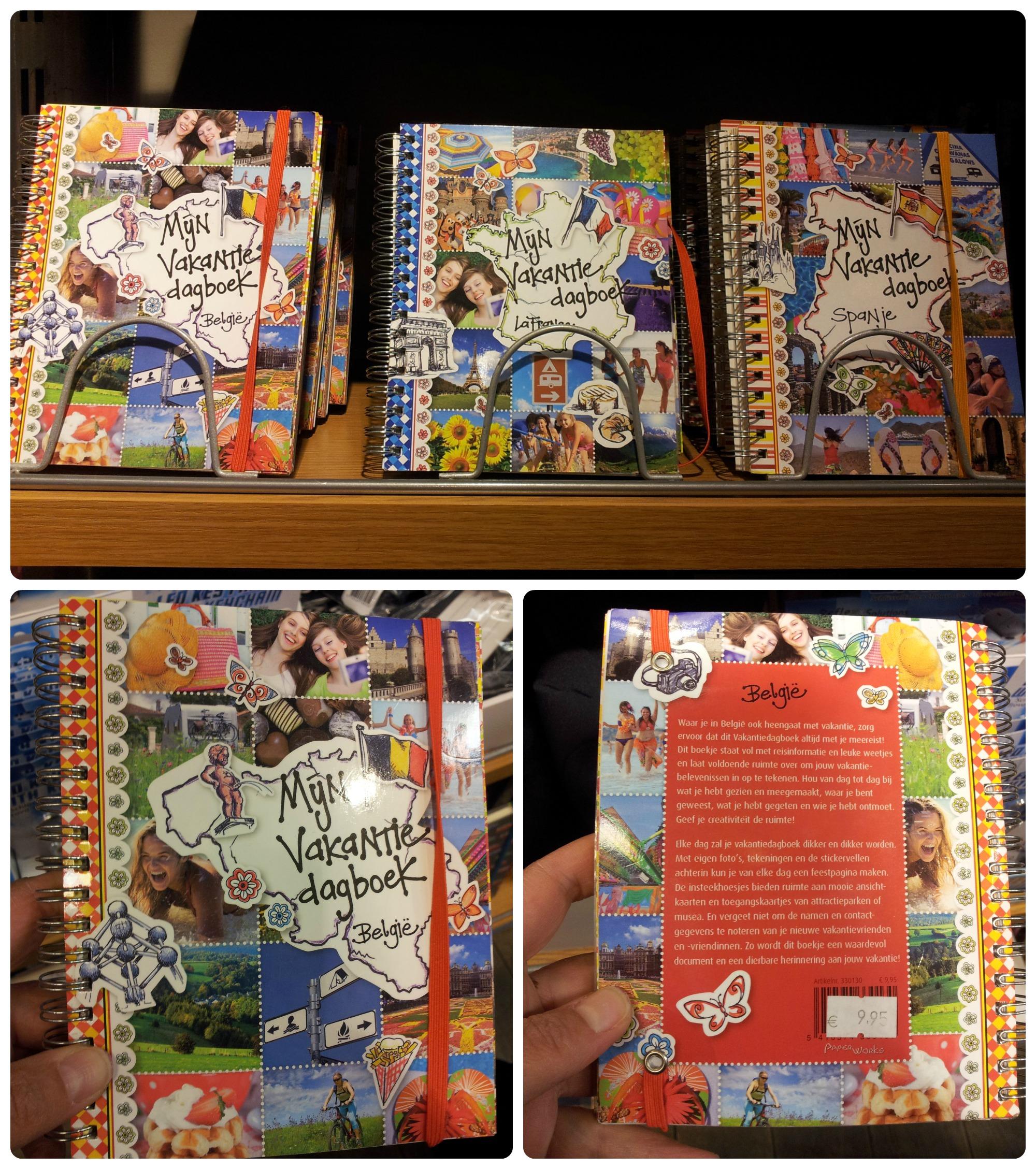 Mijn Vakantie dagboek